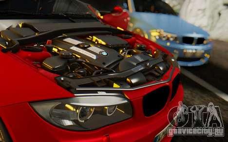 BMW 1M E82 для GTA San Andreas вид сбоку