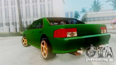 Sultan New Edition для GTA San Andreas вид слева