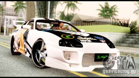Toyota Supra Full Tuning v2 для GTA San Andreas