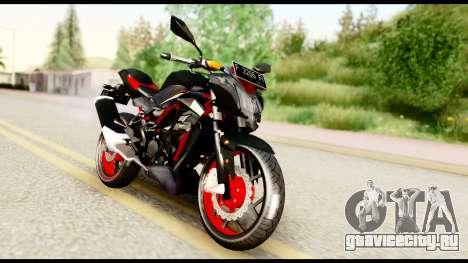 Kawasaki Z250SL Red для GTA San Andreas