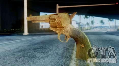 Red Dead Redemption Revolver для GTA San Andreas второй скриншот