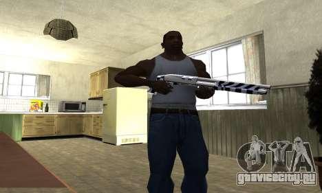 Black Lines Shotgun для GTA San Andreas третий скриншот