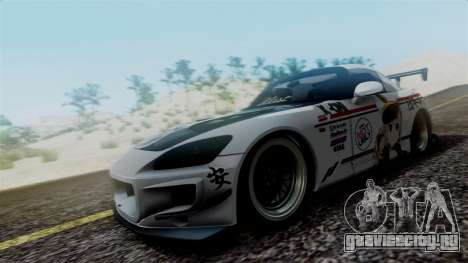 Honda S2000 Tuned Mugi Itasha для GTA San Andreas вид слева