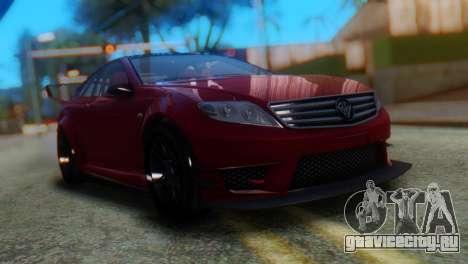 Benefactor Schwartzer Racecar для GTA San Andreas