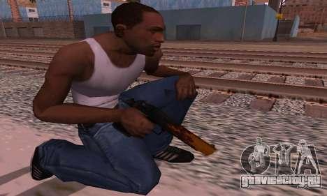 Deagle Flame для GTA San Andreas третий скриншот