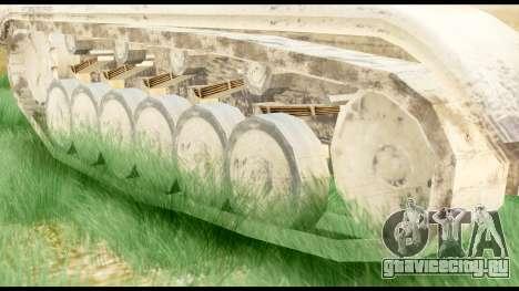 Panzerkampwagen II Desert для GTA San Andreas вид сзади слева