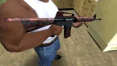 Brown Jungles M4 для GTA San Andreas