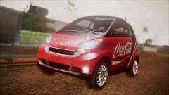Smart ForTwo Coca-Cola Worker