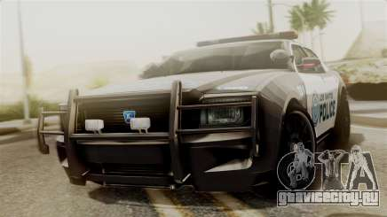 Hunter Citizen from Burnout Paradise Police LS для GTA San Andreas
