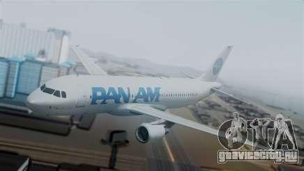 Airbus A320-200 Pan American World Airlines для GTA San Andreas