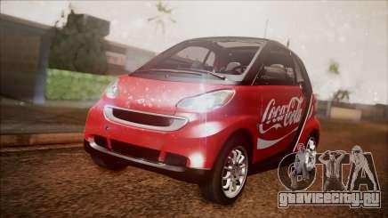 Smart ForTwo Coca-Cola Worker для GTA San Andreas