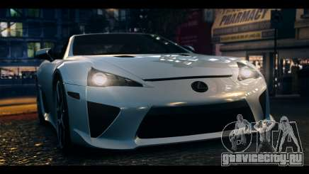 Lexus LF-A 2010 EPM для GTA 4