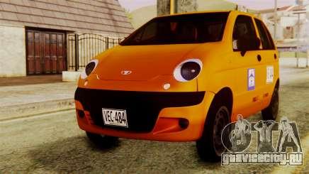 Daewoo Matiz Taxi для GTA San Andreas