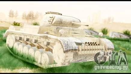 Panzerkampwagen II Desert для GTA San Andreas