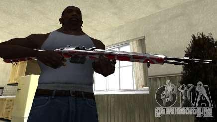 Snake Rifle для GTA San Andreas