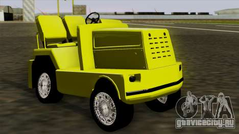 GTA 4 Airtug HQS для GTA San Andreas