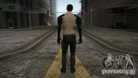Адам Дженсен для GTA San Andreas третий скриншот