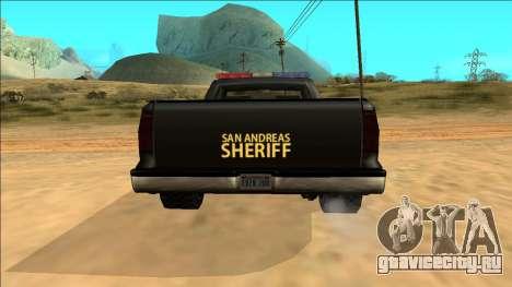 New Yosemite Police v2 для GTA San Andreas вид сверху