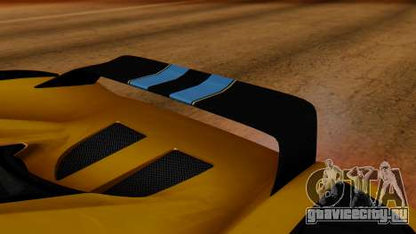 Koenigsegg Agera 2011 для GTA San Andreas вид изнутри