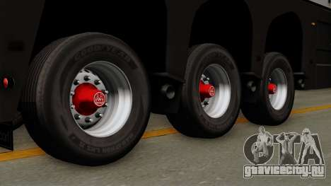 Trailer Glass v2 для GTA San Andreas вид сзади слева
