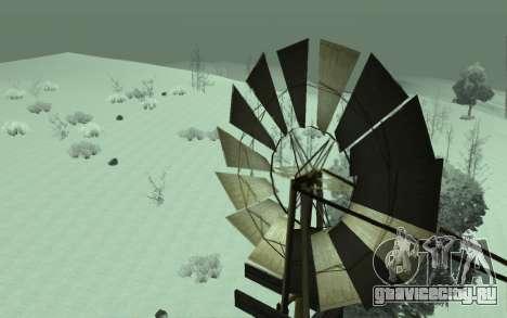 Зимний Timecyc для GTA San Andreas