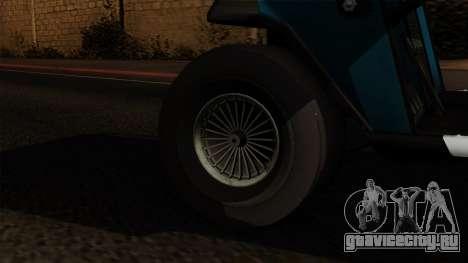 E-Z-GO Golf Cart v1.1 для GTA San Andreas вид сзади слева