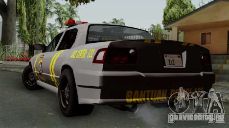 Indonesian Police Type 1 для GTA San Andreas вид слева