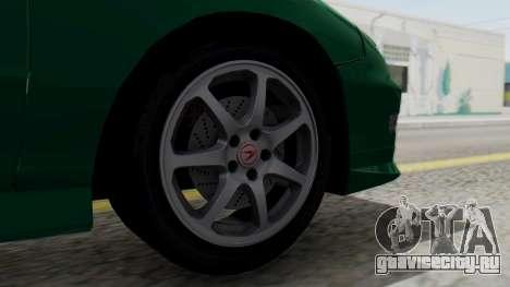 Acura Integra Fast and Furious для GTA San Andreas вид сзади слева