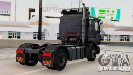 Renault Premuim 4x2 для GTA San Andreas вид слева