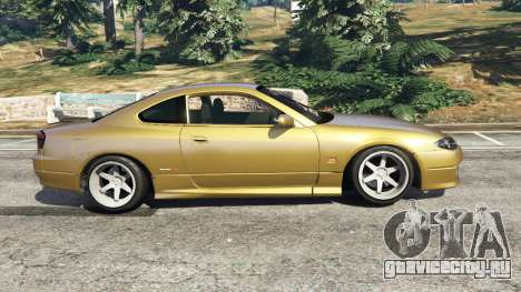 Nissan Silvia S15 (Wide & Camber) v0.1 для GTA 5