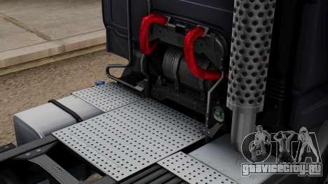 Renault Premuim 6x4 для GTA San Andreas вид сзади