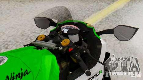Kawasaki ZX-10R 2015 30th Anniversary Edition для GTA San Andreas вид справа