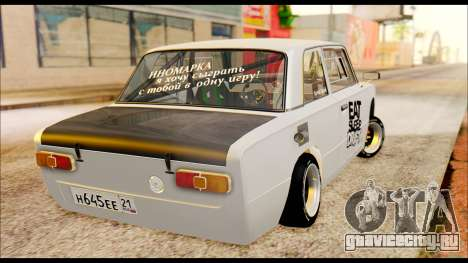 ВАЗ 21013 Спорт для GTA San Andreas вид сзади слева