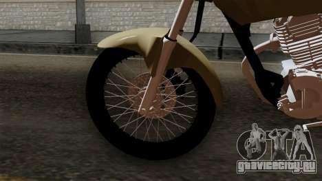 CB1 Stunt Imitacion для GTA San Andreas вид сзади слева
