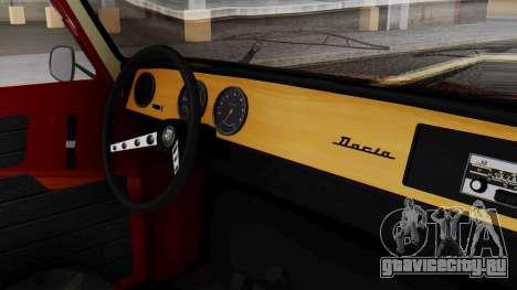 Dacia 1100 Sport для GTA San Andreas вид справа