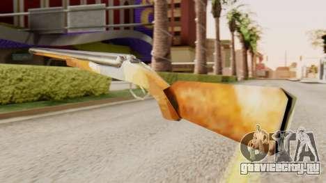 Полная версия двуствольного ружья для GTA San Andreas второй скриншот