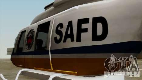 Rain Dance Maverick для GTA San Andreas вид сзади