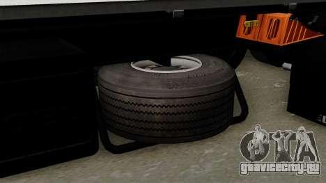 Trailer Kogel для GTA San Andreas вид справа