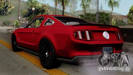 Ford Mustang GT 2010 для GTA San Andreas вид слева