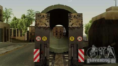 Trailer Cargos ETS2 New v3 для GTA San Andreas вид сзади