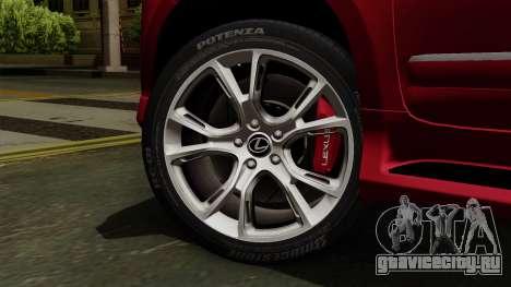 Lexus GX460 2014 v2 для GTA San Andreas вид сзади слева