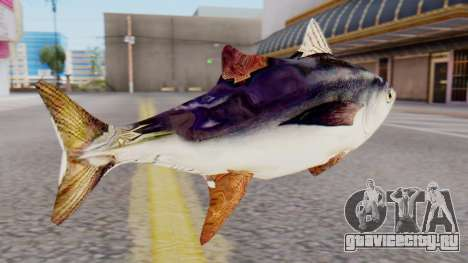 Tuna Fish Weapon для GTA San Andreas второй скриншот