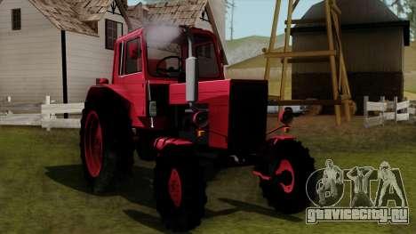 Трактор MTZ80 для GTA San Andreas