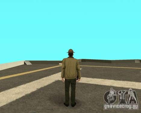 Новый скин для копов из ЛВПД для GTA San Andreas второй скриншот