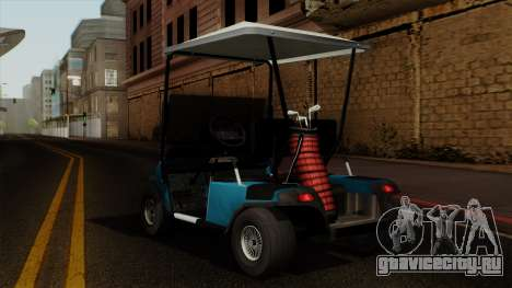 E-Z-GO Golf Cart v1.1 для GTA San Andreas вид слева