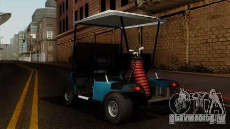 E-Z-GO Golf Cart v1.1 для GTA San Andreas вид слева