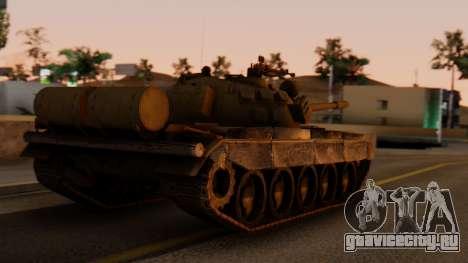 T-55AM Merida для GTA San Andreas вид слева