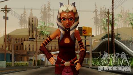 Ahsoka Tano Star Wars для GTA San Andreas