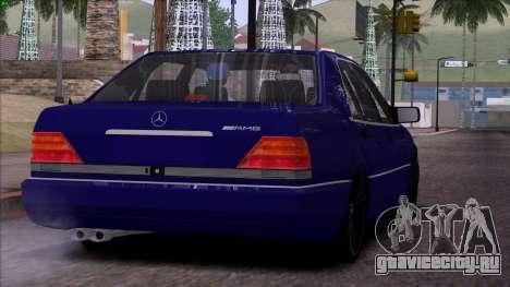 Mercedes-Benz S600 W140 для GTA San Andreas колёса