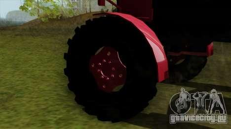 Трактор MTZ80 для GTA San Andreas вид сзади слева
